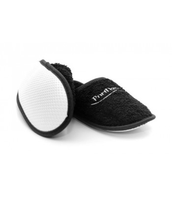 Portdance Black Slippers